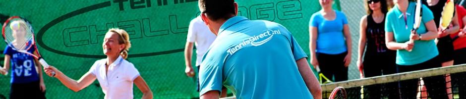 Tennisschool Challenge in Leiden - Tennisles